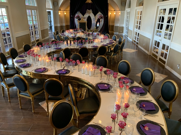 Crystal & Marcel - May 2019 Rehearsal Dinner - Houston, TX - The Bougainvilleas