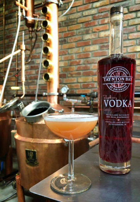 Raspberry Vodka Recipes   Taynton Bay Spirits